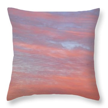 Pink In The Sky Throw Pillow