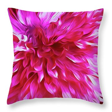 Pink Passion Punch  Throw Pillow