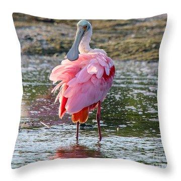 Pink Tutu Throw Pillow