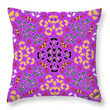 Pink1 Throw Pillow