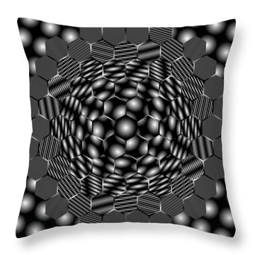 Plattiring Throw Pillow