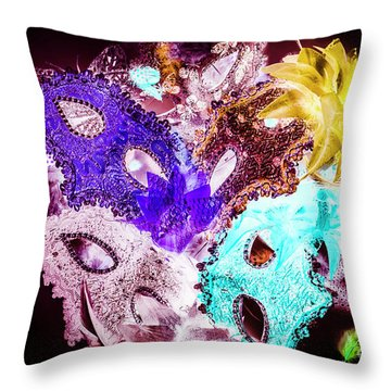 Play On Colors Throw Pillow