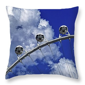 Throw Pillow featuring the photograph Pod Cluster 1 by Skip Hunt