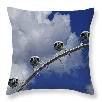 Throw Pillow featuring the photograph Pod Cluster 2 by Skip Hunt