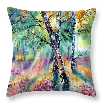 Poetry Of Summer Throw Pillow