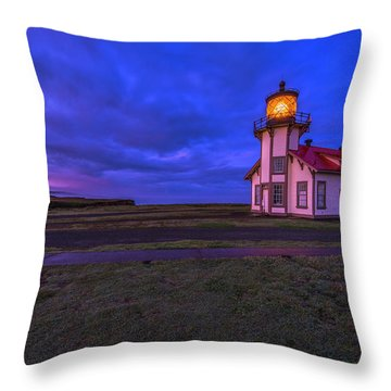 Point Cabrillo Light Station - 3 Throw Pillow