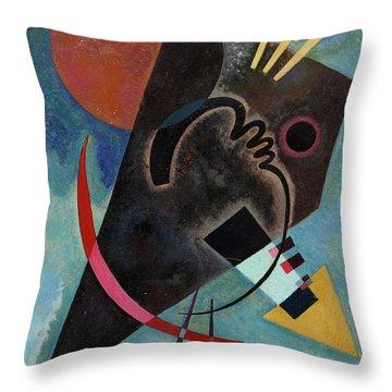 Pointed And Round - Spitz Und Rund Throw Pillow