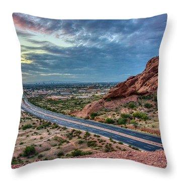 Popago Park Views  Throw Pillow