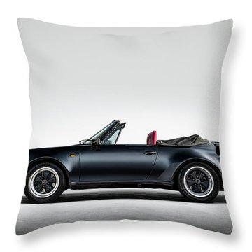 Porsche 911 Cabrio Throw Pillow