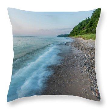 Port Oneida Summer Throw Pillow