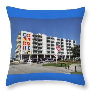 Port Royal Hotel Wildwood Nj 2019 Throw Pillow