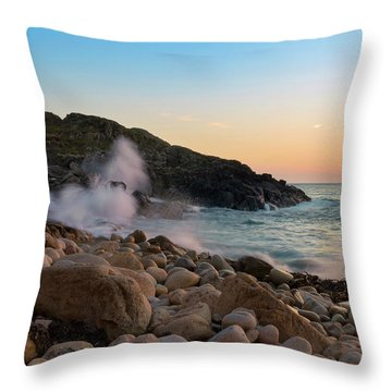 Porth Nanven Splashback Throw Pillow