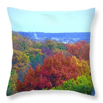 Power And Glory Throw Pillow