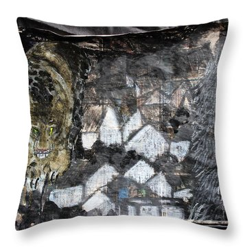 Power Strolled Onto The World Throw Pillow