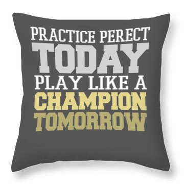 Practice Perfect Throw Pillow
