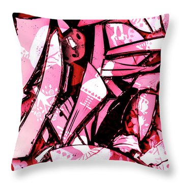 Predictive Deprogramming Throw Pillow