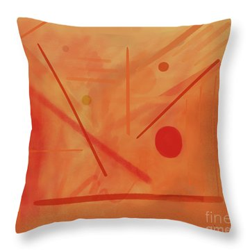 Prepare To Conduct The Orchestra Throw Pillow