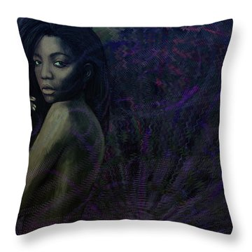 Preta Throw Pillow