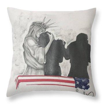 Price Of Liberty Throw Pillow