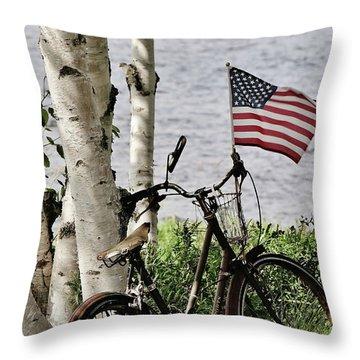 Pride Ride Throw Pillow
