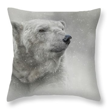 Prince Of The North Pole Throw Pillow