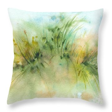 Promise Of Sunshine Throw Pillow