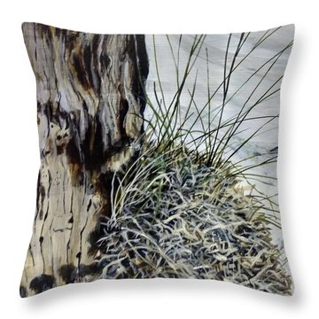 Throw Pillow featuring the painting Promise by William Brody