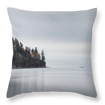 Brockton Point, Vancouver Bc Throw Pillow