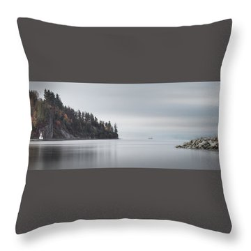 Brockton Point, Vancouver Bc Throw Pillow