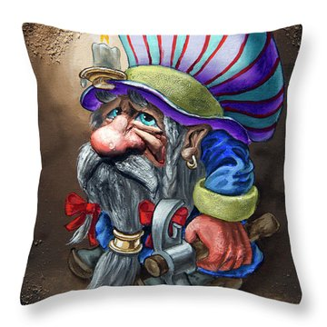 Prospector Throw Pillow