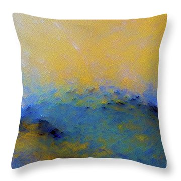 Psalm 100 4. With Thanksgiving Throw Pillow