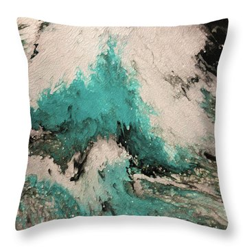 Psalm 59 16. I Will Sing Of Your Power Throw Pillow