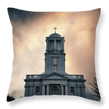 Psalm Before The Storm Throw Pillow