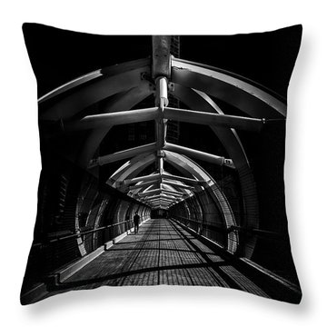 Puente De Luz Pedestrian Bridge Toronto Canada No 1 Throw Pillow