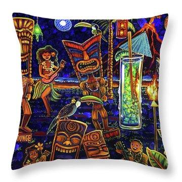 Puka Lounge Throw Pillow