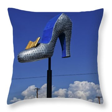 Throw Pillow featuring the photograph Pump by Skip Hunt