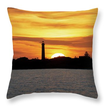 Punta Secca Throw Pillow
