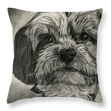 Puppers Throw Pillow