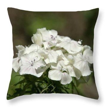 Pure Still Life Throw Pillow