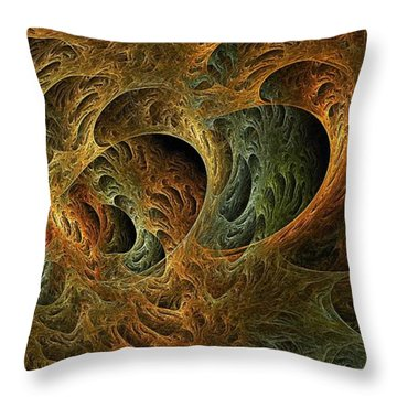 Purgatoria-2 Throw Pillow