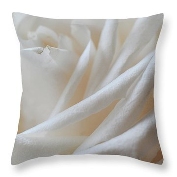 Throw Pillow featuring the photograph Purity by Michelle Wermuth