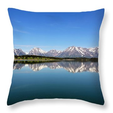 Throw Pillow featuring the photograph Purple Mountains Majesty by Sue Collura