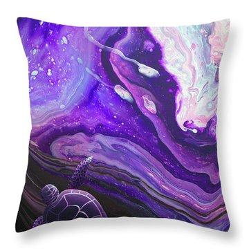 Purple Munchkin Throw Pillow