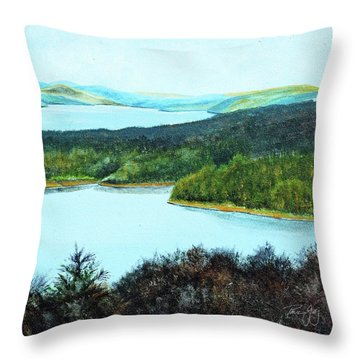 Quabbin Northwest Throw Pillow