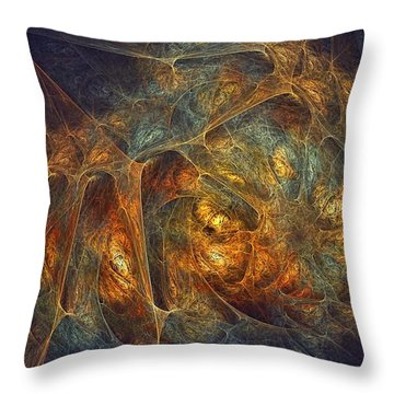 Quantum Beasties Throw Pillow