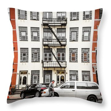 Throw Pillow featuring the photograph Quick Delivery by Steve Stanger