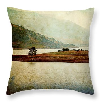 Throw Pillow featuring the photograph Quiet Before The Storm by Milena Ilieva