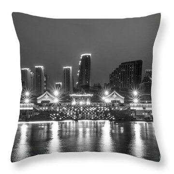 Qujingde Garden Throw Pillow