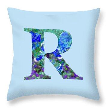 R 2019 Collection Throw Pillow
