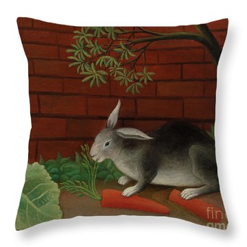 Rabbit, 1908 Throw Pillow